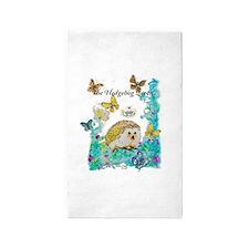 Hedgehog Queen Area Rug