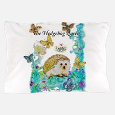 Hedgehog Queen Pillow Case