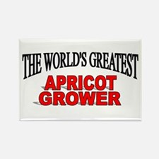 """""""The World's Greatest Apricot Grower"""" Rectangle Ma"""