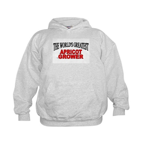 """The World's Greatest Apricot Grower"" Kids Hoodie"