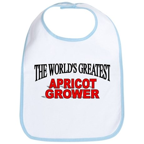 """The World's Greatest Apricot Grower"" Bib"