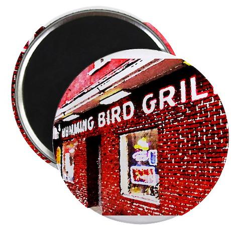 Humming Bird Grill Magnet