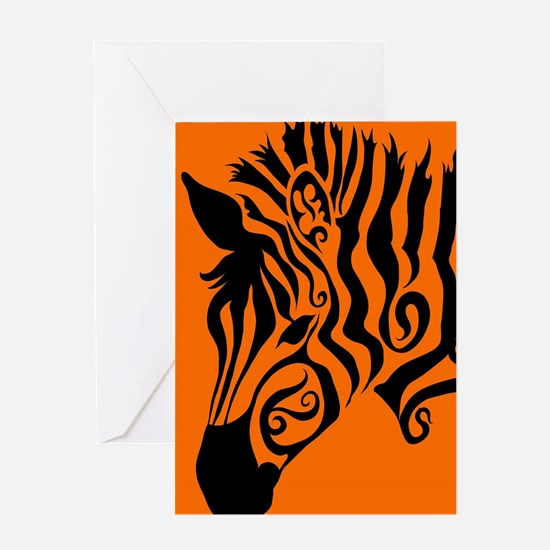 ZEBRA!! Greeting Card