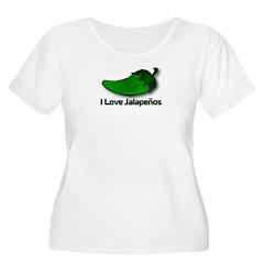 I Love Jalapenos T-Shirt