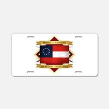Mosby's Rangers Aluminum License Plate