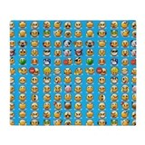 Emojis Blankets