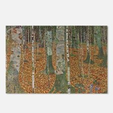 Birch Forest by Gustav Kl Postcards (Package of 8)