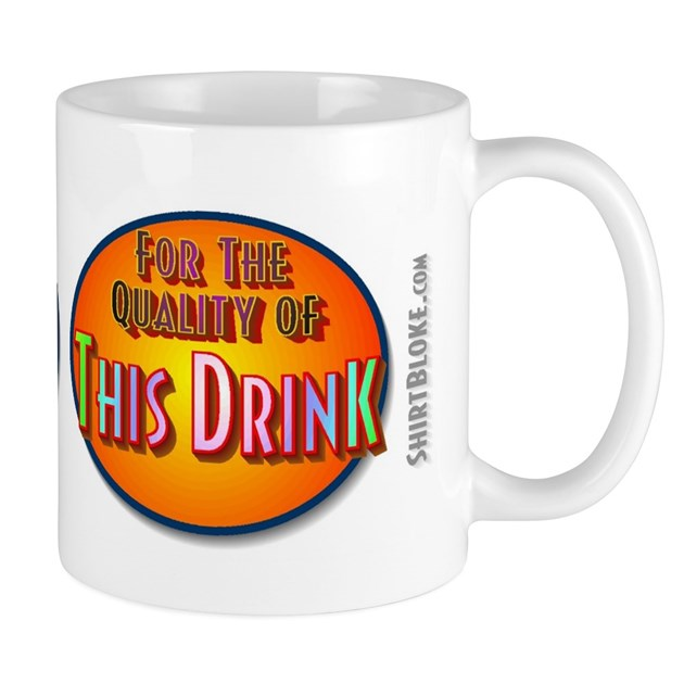 Standard Size 11oz Visitors Coffee Mug by the_daily_shirt