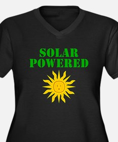 Solar Powered Plus Size T-Shirt