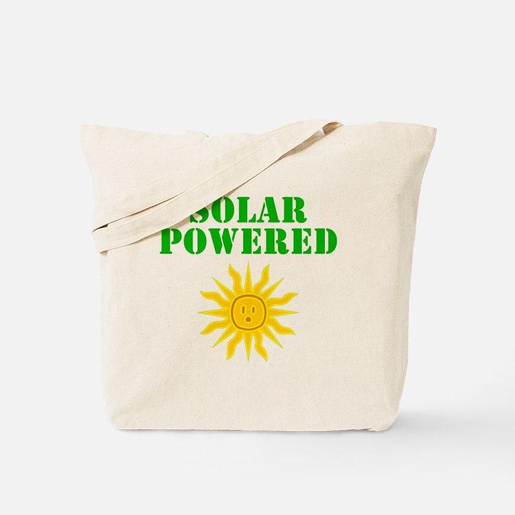 Solar Powered Tote Bag