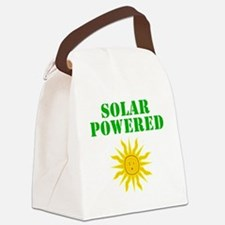 Solar Powered Canvas Lunch Bag