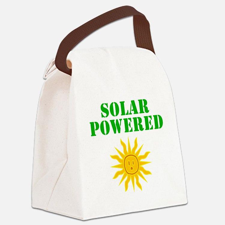 Solar Powered Canvas Lunch Bag