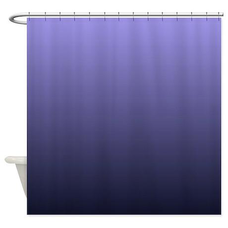 Purple Violet Ombre Shower Curtain