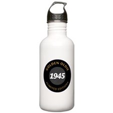 Birthday Born 1945 Cla Water Bottle