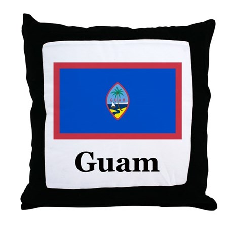 Guam Throw Pillow