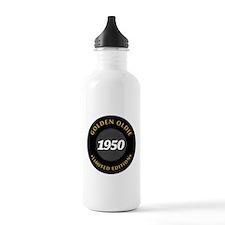 Birthday Born 1950 Cla Water Bottle