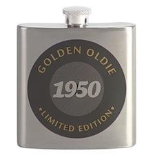 Birthday Born 1950 Classic Edition Flask