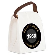 Birthday Born 1950 Classic Editio Canvas Lunch Bag
