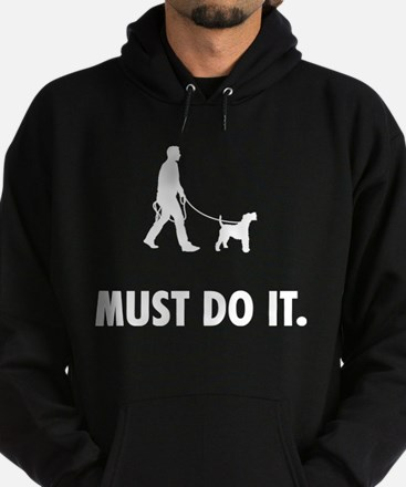 Wire Fox Terrier Hoodie (dark)