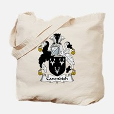 Cavendish Family Crest Tote Bag