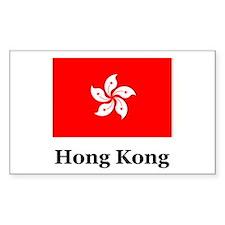 Hong Kong Rectangle Decal