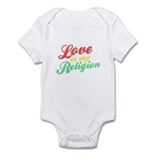 Love is my Religion Infant Bodysuit