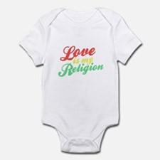 Love is my Religion Infant Bodysuit