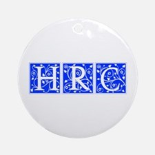 HRC 2016-Ana blue 500 Ornament (Round)