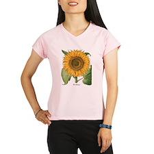Vintage Sunflower Basilius Performance Dry T-Shirt