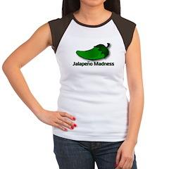 Jalapeno Madness Women's Cap Sleeve T-Shirt