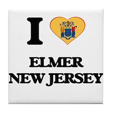 I love Elmer New Jersey Tile Coaster