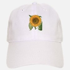 Vintage Sunflower Basilius Besler Baseball Baseball Cap