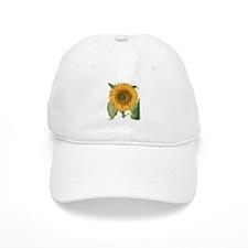 Vintage Sunflower Basilius Besler Baseball Cap