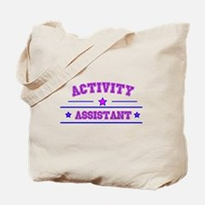 activity assistant Tote Bag