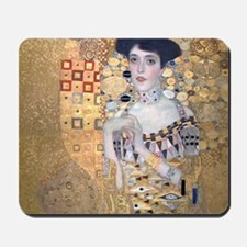 Klimt The Lady In Gold Art Deco Mousepad