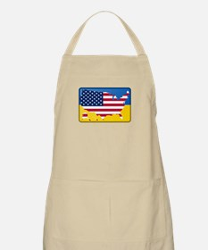 Ukrainian-American Light Apron