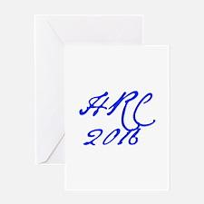 HRC 2016-Jan blue 400 Greeting Cards
