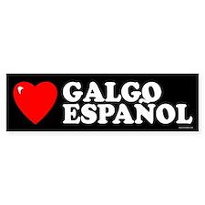 GALGO ESPAÑOL Bumper Bumper Stickers