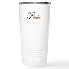 Gold Paladin Travel Mug