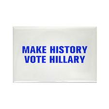 Make History Vote Hillary-Akz blue 500 Magnets
