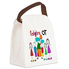 Pediatric Occupational Therapist Canvas Lunch Bag