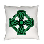 Celtic Cross Everyday Pillow