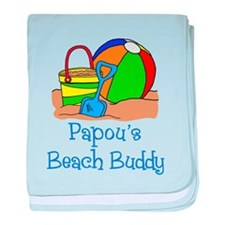 Papou's Beach Buddy baby blanket