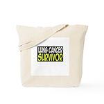 'Lung Cancer Survivor' Tote Bag