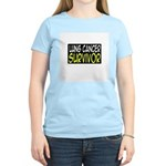 'Lung Cancer Survivor' Women's Light T-Shirt