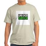 'Lung Cancer Survivor' Light T-Shirt