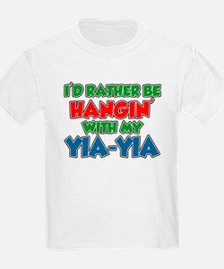 Rather Be With Yia-Yia T-Shirt