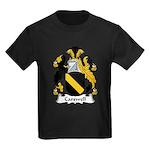 Carswell Family Crest Kids Dark T-Shirt