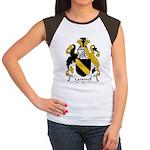 Carswell Family Crest Women's Cap Sleeve T-Shirt