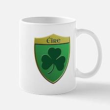 Ireland Shamrock Shield Mugs